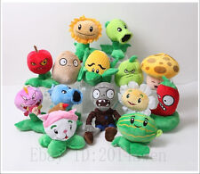 XMAS Gift PLANTS vs ZOMBIES Soft Plush Doll Plush Toy Children Kids 5.1''13.7''