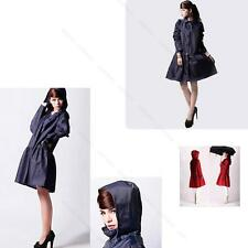 Polka Dot Hiking Travel Women #P Waterproof slicker Clothes Raincoat Poncho