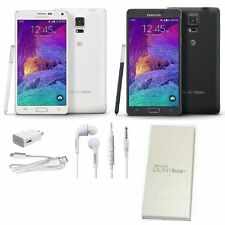 Samsung Galaxy Note 4 SM-N910A -32GB (AT&T Unlocked) Smartphone White - Black