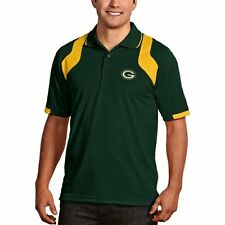 Green Bay Packers Antigua Embroidered Xtra-Lite Green Fusion Polo Shirt