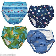 12 MONTH IPLAY Boys Swim Pants Diapers Reusable Washable Soft Containment Pool
