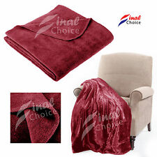New Luxury Soft Mink Faux Fur Throws Blankets Soft Warm Fleece For Bed Sofa Home