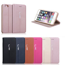 Luxury Magnetic Flip Cover Stand Wallet Leather Case For Apple iPhone 6 /6 Plus
