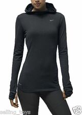 634812-021 New with Tag NIKE Women's hooded hoodie running soft hand shirt grey