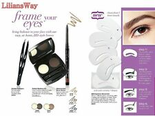 AVON PERFECT EYEBROW KIT~EYEBROW STENCILS KIT~BROW COMB~VARIOUS ITEMS~ FREE P&P