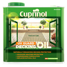 Cuprinol UV Guard Decking Oil (WB) 2.5L (previously Decking Oil & Protector)