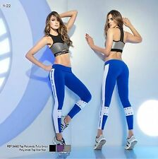 BABALU Fashion Fitness Suplex Sett One Size Hot Women Workout Two Pieces