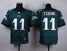 Eagles #11 Tim Tebow Midnight Green Team Color Men's Stitched NFL New Elite