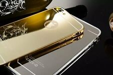 2015 New Luxury Aluminum Ultra-thin Mirror Metal Case Cover for Apple iPhone