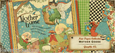 Graphic 45 Mother Goose 12x12 Scrapbooking Paper Pages
