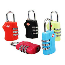 TSA Security 3 Digits Combination Travel Suitcase Luggage Bag Code Lock Padlock