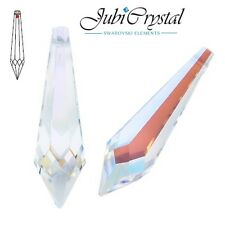 1 PC SWAROVSKI ELEMENTS 8611 Drop 40x11 mm Pendant Crystal - All Colours &Effect