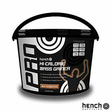 4KG 8.8LB HENCH MASS GAINER WEIGHT GAIN WHEY PROTEIN MUSCLE POWDER  ALL FLAVOURS