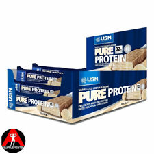 USN Pure Protein Bars 75g x 12 High Whey Protein Bars
