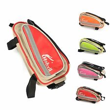 Cycling Bike Bicycle Top Front Frame Triangle Tube Bag Saddle Pouch