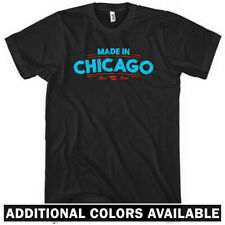 Made in Chicago V2 T-shirt - Chi-Town Windy City 312 773 - Men and Kids XS-4XL