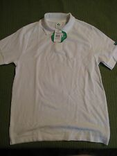 NWT Original Vintage Girl Scout Official Junior White Polo Shirt Cotton Blend