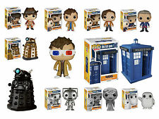 Doctor Who Funko Pop! Vinyl Figures - Including Dr Who Limited Edition Pops
