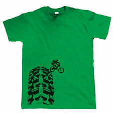 Single Track T-Shirt - DH Mountain Bike MTB Downhill - Choice of Colours