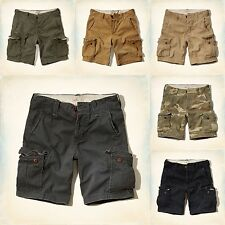 Nwt Hollister By Abercrombie Men's Cargo Shorts At The Knee new 2015