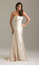New Sexy Long Strapless Prom Dress Evening Party Gown Stock Size 6 8 10 12 14 1