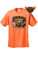 MEN'S BIKER T-SHIRT POW MIA All Gave Some, Some Gave All PATRIOTC ARMY USA TEE