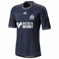 adidas Olympique Marseille 2013 -  2014 Away Soccer Jersey New Denim Navy