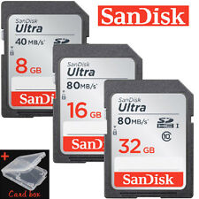 SanDisk Ultra 8G 16G 32GB 40MB/S 80MB/S SD SDHC SDXC Card Class10 Memory Card