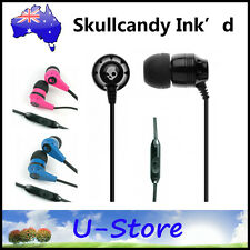 Skullcandy INK'D Earphones Headphones with MIC for Apple iPod iPhone Android