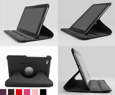 "Rotating Stand PU Leather Cover Case For Samsung Galaxy Tab 7.7"" P6800 P6810"