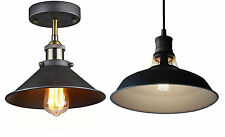 Antique Industrial Light Fixture Retro Ceiling Pendant Fixtures for Edison Bulbs