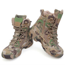 Mens Camouflage Camo Lightweight Special Ops Desert Boot Shoes Boots Size 5-11