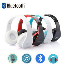 Wireless Bluetooth Headset Stereo Headphone Earphone for iPhone Samsung Foldable