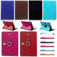 "New 360° Rotating Universal Leather Case Cover For 7"" 10"" 10.1"" Inch Tablet PC"