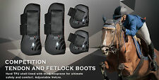 Tendon & Fetlock Boots Set for Jumping and Protection