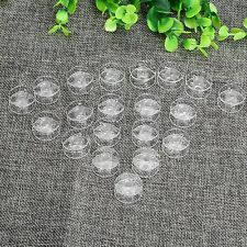 10/20/50/100Pcs 2x1cm Clear Bobbin Thread String Empty Spools for Sewing Machine