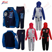 Girls Boys Baseball Jogging Suits Tracksuit Joggers Hoodie a Lot Bottoms & Tops
