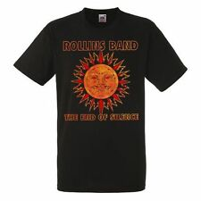 Rollins Band The End Of Silence men t shirt shirt  tee black Kurzarm hard rock