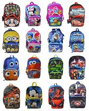 "Disney Marvel Finding Dory 16"" Large School Backpack with Detachable Lunch Bag"
