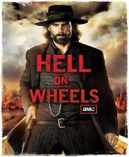 AMC HELL ON WHEELS TV  WHITE T-SHIRT SHIRT  NEW  RARE LIMITED EDITION!