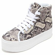 3457I sneakers donna JEFFREY CAMPBELL homg snake zeppe scarpe shoes women