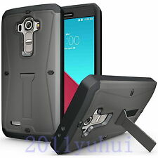 Newest Hybrid Shockproof Armor Screen Protector Hard Case Cover For LG G4