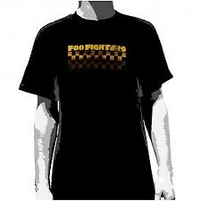 Foo Fighters - Checkers Black - Mens Short Sleeve T-Shirt