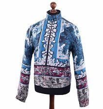 DOLCE & GABBANA Silk Jacket Blue 03813