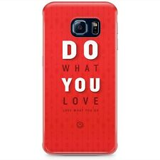Do What You Love Motivational Quote Samsung Phone Hard Shell Case - Samsung Gala