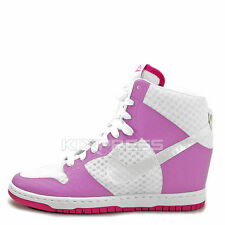 WMNS Nike Dunk Sky Hi 2.0 BR [725069-102] NSW Casual Wedges White/Fuchsia-Pink