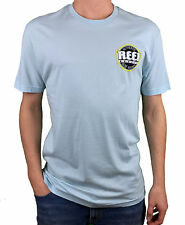 REEF. Authentic Brazil. Mens Light Blue Short Sleeve T-Shirt. Size: S, L, XL.
