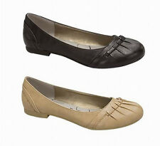 New Fashion Casual Black Ballet Flats Shoes size 5-10