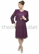 Short Dress Jacket Modest Mother of the Bride Formal Lace Church Plus Size New