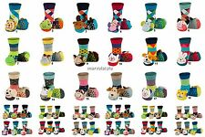 Baby Boys Girls Anti Slip Terry Socks with 3D Animal Rattle age 0-24 months WOW!